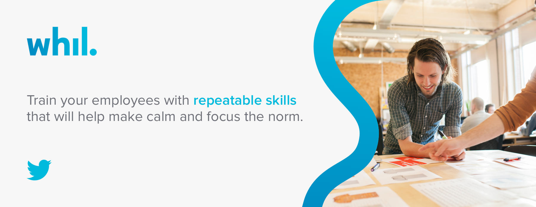 Train your employees with repeatable skills that will help make calm and focus the norm.